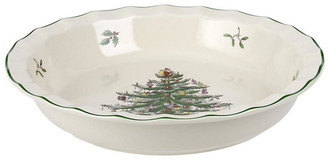 Spode Sculpted Pie Dish - Christmas Tree