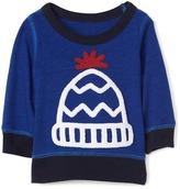 Gap Beanie graphic pullover sweatshirt