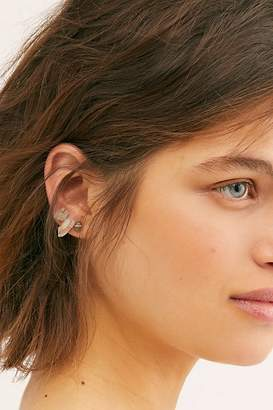 Free People Mint Gold Filled Mineral Stud Earring Pack by Mint Jewelry Co. at