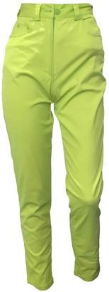 Versus Green Jeans for Women Vintage