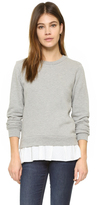 Clu Too Ruffled Sweatshirt
