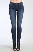 Mavi Jeans Adriana Super Skinny In Deep Indigo Tribeca