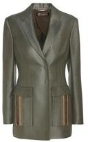 Versace Silk-blend Blazer