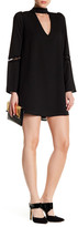 Lucca Couture V-Neck Long Sleeve Dress