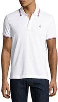 Moncler Tipped Piqué; Polo Shirt
