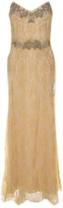 Marchesa Gold Cotton Dresses