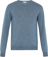 ÉDITIONS M.R V-neck wool sweater
