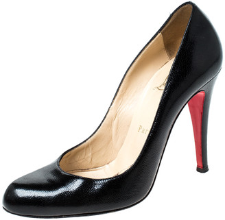 Christian Louboutin Black Leather Fifille Pumps Size 36.5