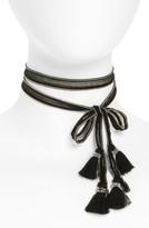 Chan Luu Women's Chiffon Tie Necklace