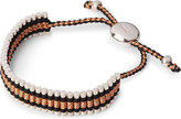 Links of London Friendship bracelet black and copper