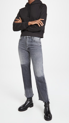 Mother Superior The Rambler Ankle Fray Jeans