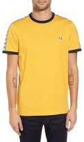 Fred Perry Men's Extra Trim Fit Cotton Ringer T-Shirt
