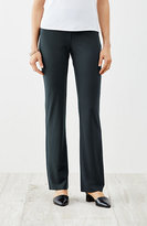 J. Jill Wearever Smooth-Fit Barely Boot-Cut Pants