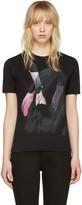 Givenchy Black Flamingo T-Shirt
