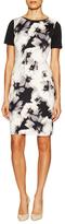 T Tahari Dakota Floral Print Sheath Dress