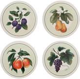 Mikasa Set of 4 Assorted Fruit Coasters