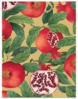 Caspari Pomegranates Holiday Cards, Box of 16