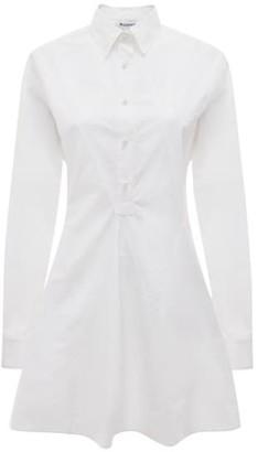 J.W.Anderson Godet Hem Poplin Shirtdress