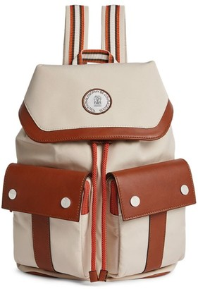 BRUNELLO CUCINELLI KIDS Double Pocket Backpack