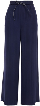 American Vintage Twill Wide-leg Pants