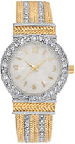 Charter Club Women's Two-Tone Cuff Bracelet Watch 30mm, Created for Macy's