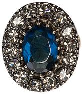 Alexander McQueen Dark Indigo Ring