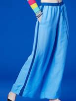 Diane von Furstenberg Beach Linen Wide Leg Pant