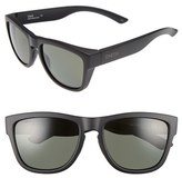 Smith Optics Men's 'Clark' 54Mm Carbonic Polarized Sunglasses - Matte Black