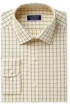 Club Room Men's Classic/Regular Fit Performance Windowpane Dress Shirt, Created for Macy's
