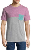 Arizona Short Sleeve Colorblock Pocket T-Shirt