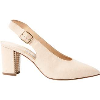 BEIGE Bionda Castana Cloth Heels
