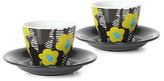 notNeutral Green Cooper Hewitt Crevel Espresso Cup - Set of Two