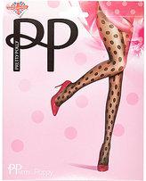 River Island Womens Black Pretty Polly spot print tights