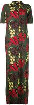 P.A.R.O.S.H. Hawaiian maxi dress - women - Silk/Spandex/Elastane - S