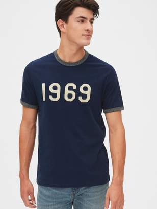 Gap 50th Anniversary Logo Ringer T-Shirt