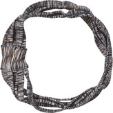 Scunci Headbands of Hope Black Lurex Headwrap with Gold