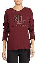 Lauren Ralph Lauren Studded Jersey T-Shirt