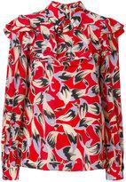 No.21 printed blouse