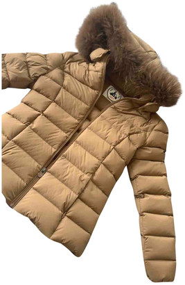 JOTT Camel Raccoon Coat for Women