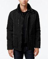 Calvin Klein Men's Quilted Stand-Collar Jacket