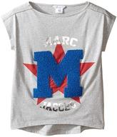 Little Marc Jacobs Official Prints Short Sleeve Tee Shirt Girl's T Shirt