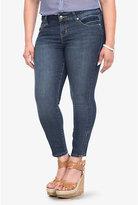 Torrid Denim - Embossed Back Pocket Ankle Zip Stiletto Jeans