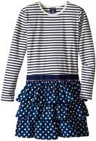 Toobydoo Kalia Ruffle Dress (Toddler/Little Kids/Big Kids)