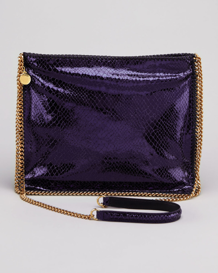Stella McCartney Falabella Medium Crossbody Bag, Purple