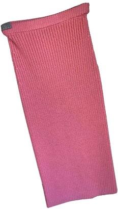Pinko Pink Wool Skirt for Women