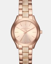 Michael Kors Mini Slim Runway Multi-Tone Analogue Watch