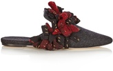 SANAYI 313 Addobbi fringed felt slipper shoes