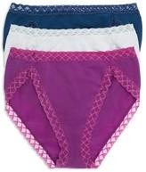 Natori Bliss French Cut Bikinis, Set of 3 #152058MP