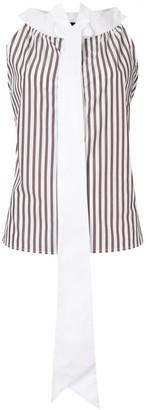Jejia Tie-Neck Sleeveless Shirt