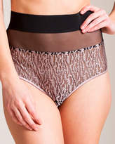 La Perla Chic Animalier High Waist Panty